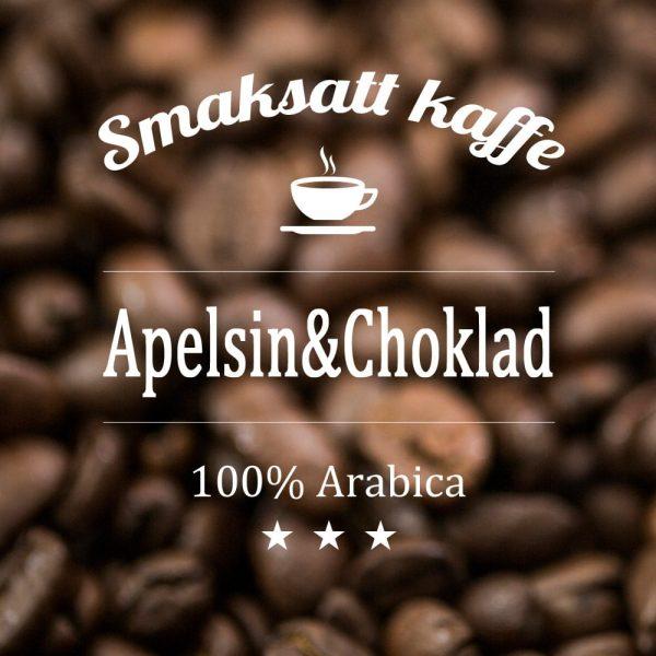 Apelsin och choklad - smaksatt kaffe