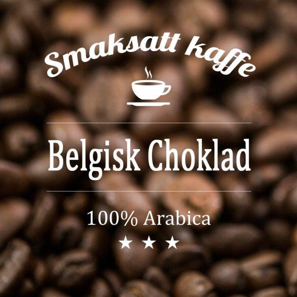 Belgisk choklad - smaksatt kaffe. Här har vi det bästa av två världar. Kaffe med smak av lyxig choklad. Mer information behövs inte, ni fattar.