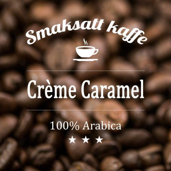 Arabicakaffe med smak av den älskade franska desserten Crème Caramel.Ett perfekt efter maten kaffe.