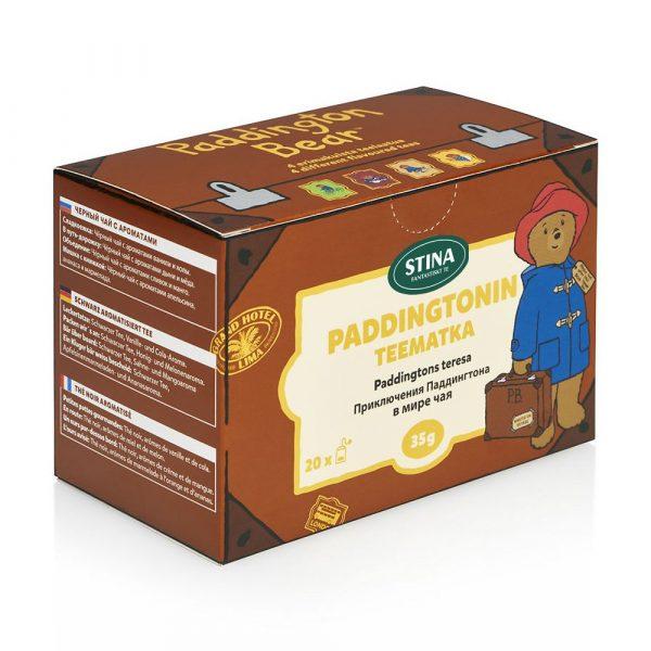 Paddington påste, Paddingtons te-resa (svart te)