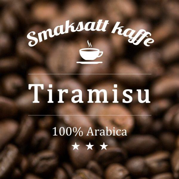Tiramisu - smaksatt kaffe
