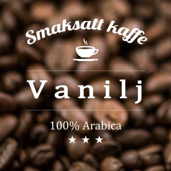 Vanilj - smaksatt kaffe