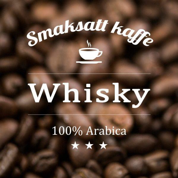 Ett fantastiskt kaffe med toner av whisky i doft och smak. Presenttips till den som gillar whisky eller varför inte njuta själv.