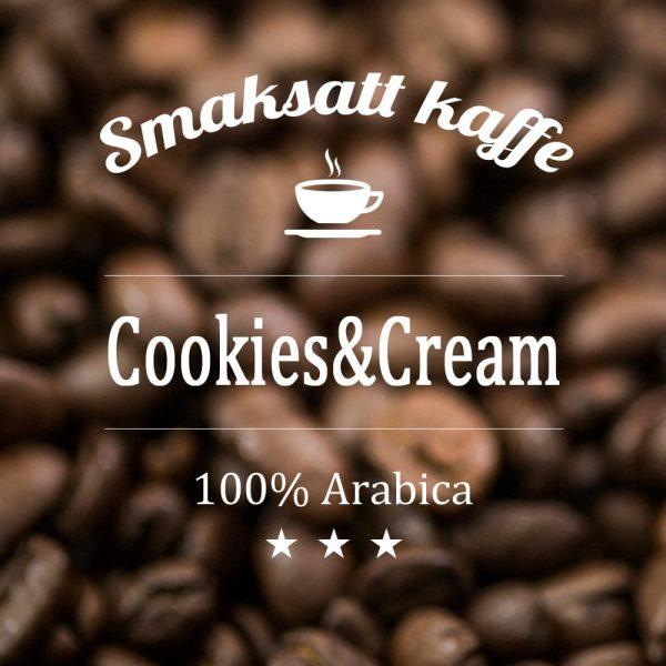 Cookies & Cream - smaksatt kaffe