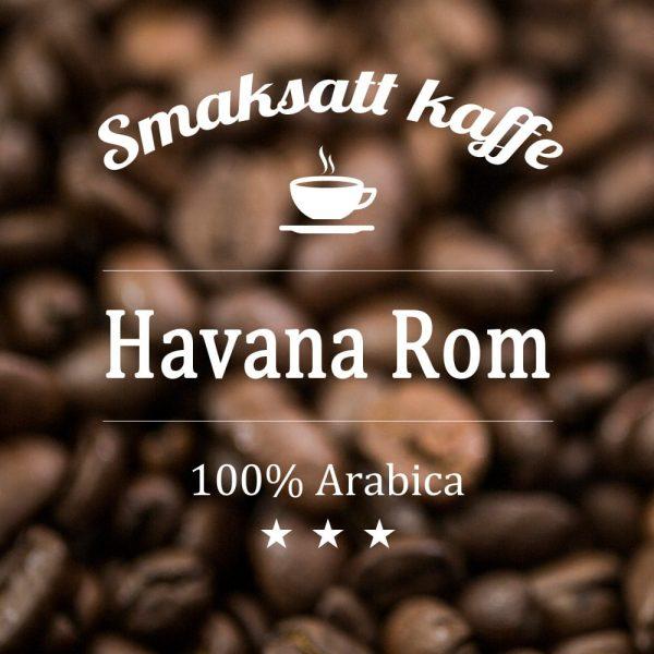 Havana Rom - smaksatt kaffe