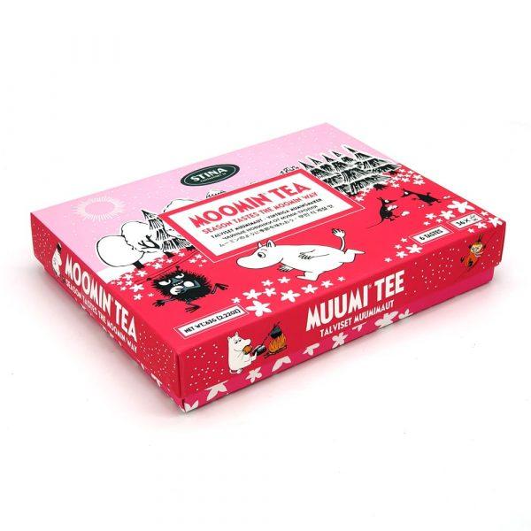 Mumin presentförpackning påste, Moomin Tea Season Tastes (svart påste)