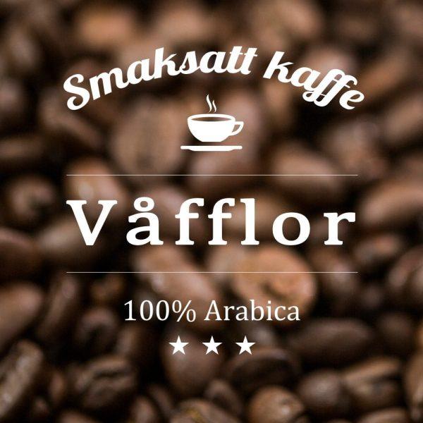 En spännande nyhet i form av arabicakaffe med smak av våfflor. Serveras med fördel tillsammans med glass.
