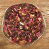 Svart te med smak av brända mandlar, äpple och kanel. Varma och trevliga smaker och ljuvlig doft.