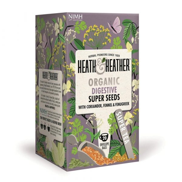 Digestive Super Seeds - Heath & Heather påste