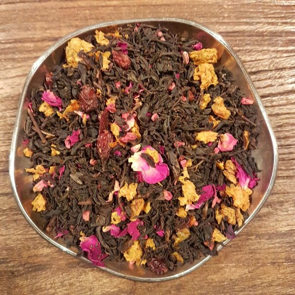 Powerberry - svart te