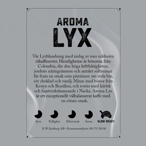 Aroma Lyx - kaffe