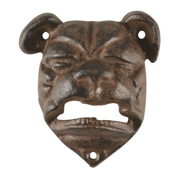Kapsylöppnare bulldog, gjutjärn