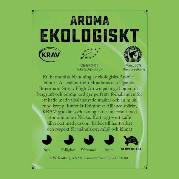 Aroma Ekologisk - kaffe