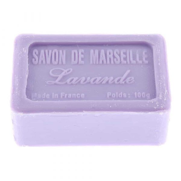 Lavande, Savon de Marsielle – Fransk tvål 100g