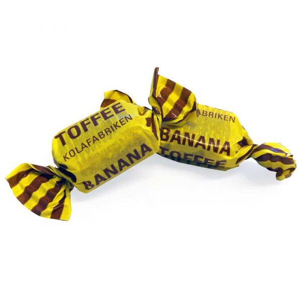 Kola med smak av banan. Tillverkad i Sverige med noga utvalda ingredienser och med extra mycket omsorg och kärlek.