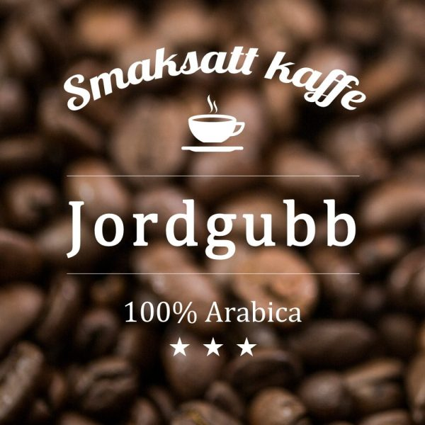 Jordgubb - smaksatt kaffe