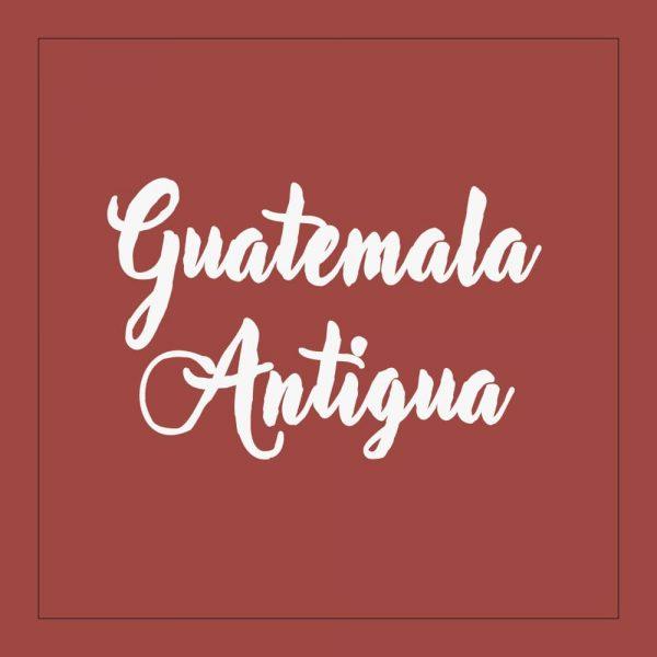 Guatemala Antigua - kaffe