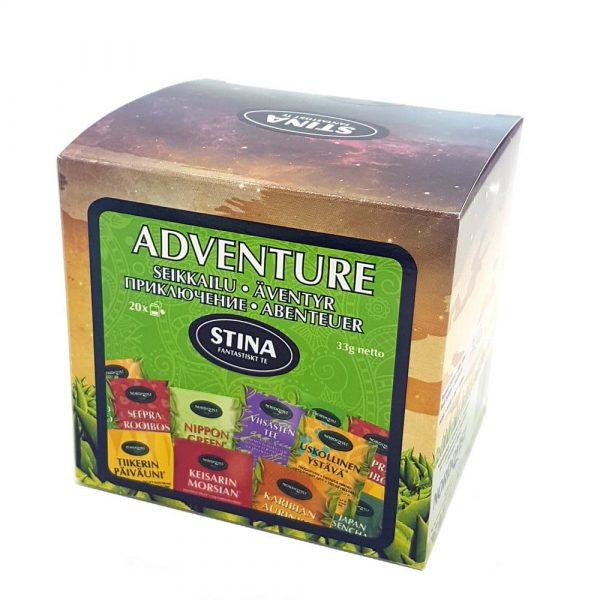 Adventure (svart, grönt, rooibos och vitt te) - påste