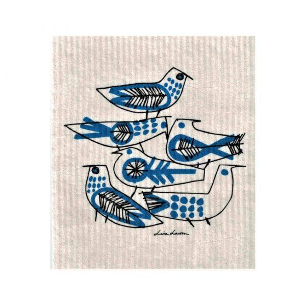 Disktrasa Lisa Larson Fåglar