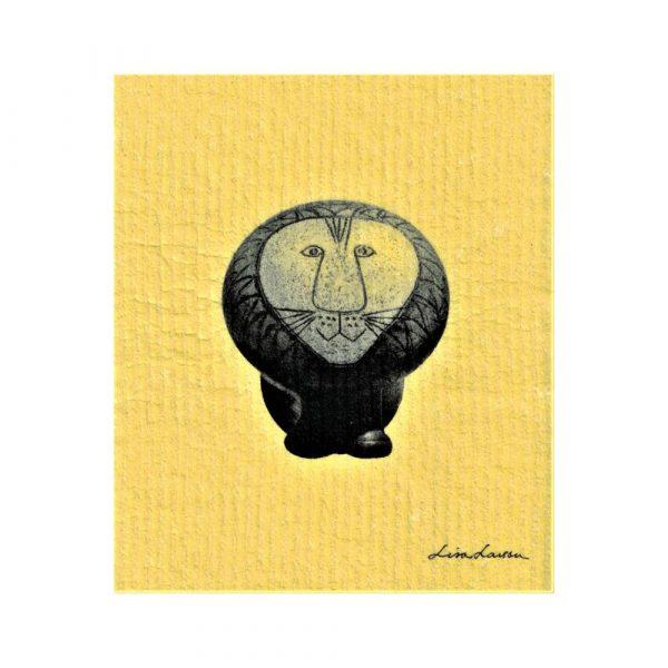Disktrasa Lisa Larson Lejonet gul