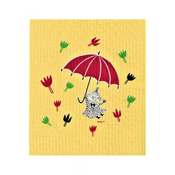 Disktrasa Mumin Lilla My paraply gul