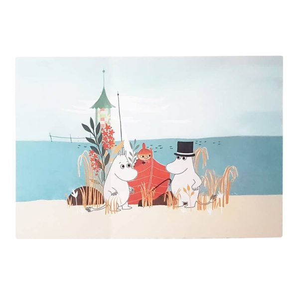 Bordstablett Mumin Our Sea 40x27,5 cm