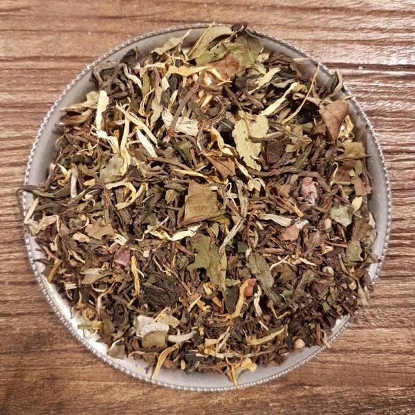 Chokladlyx - Grönt och vitt te