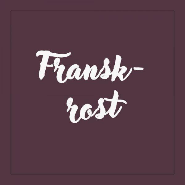 Franskrost - kaffe