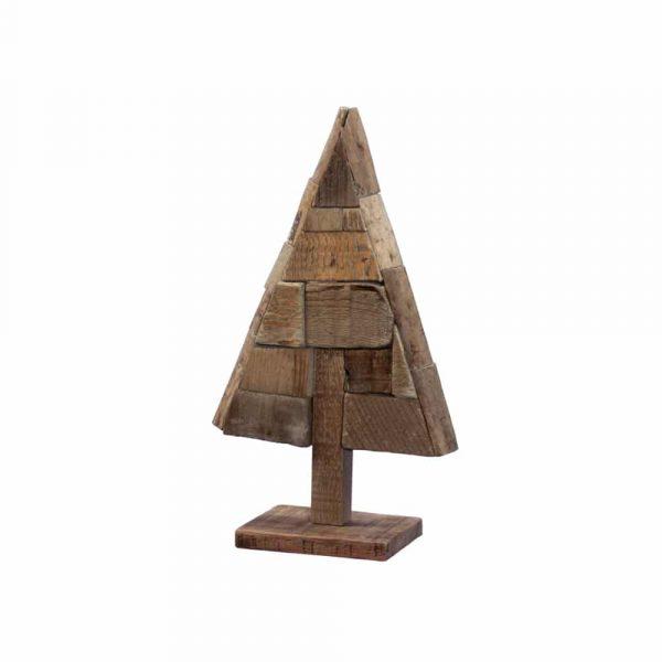 Julgran i trä 39 cm