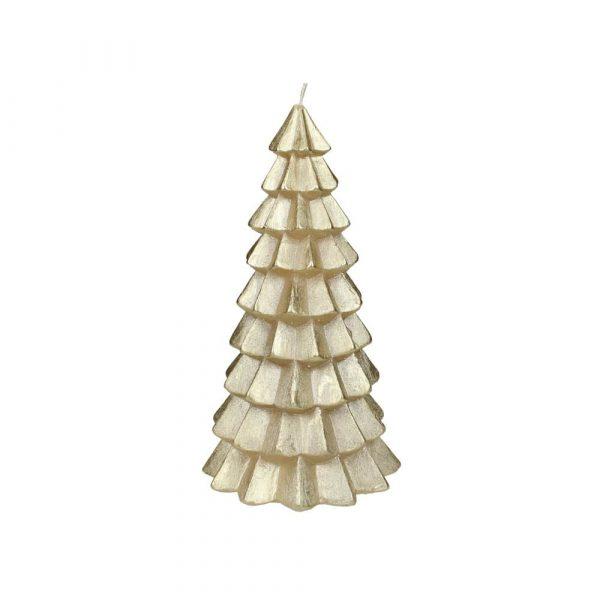 Julljus julgran guld 20 cm