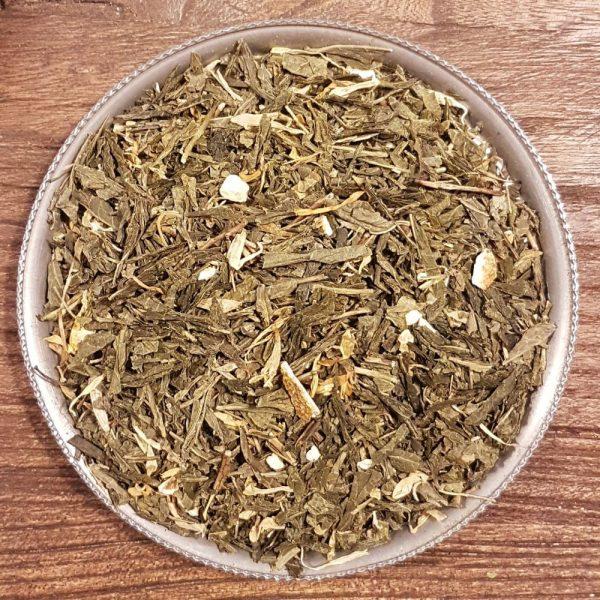 Mandarin och vanilj Eko - grönt te
