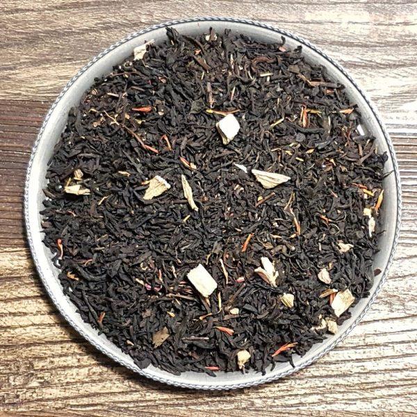 Rabarber, vanilj och kardemumma - svart te