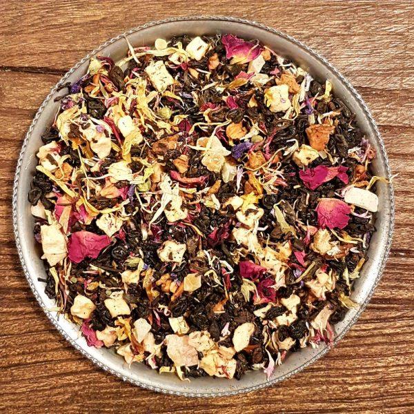 Röda frukter och vanilj - svart te