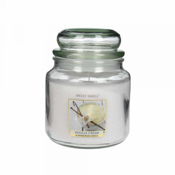Doftljus Vanilla Cream, Sweet Smell 426 g