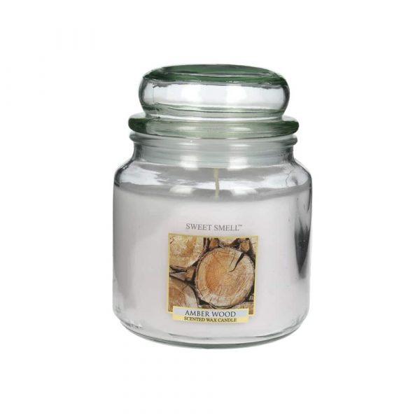Doftljus Amber Wood, Sweet Smell 426 g