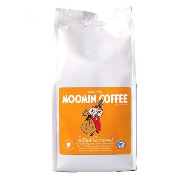 Muminkaffe Lilla My, Salted Caramel - smaksatt kaffe 250 g bryggmalet