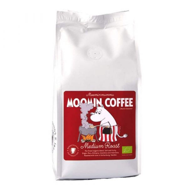 Muminkaffe Muminmamman, mellanrost - ekologiskt kaffe 250 g bryggmalet