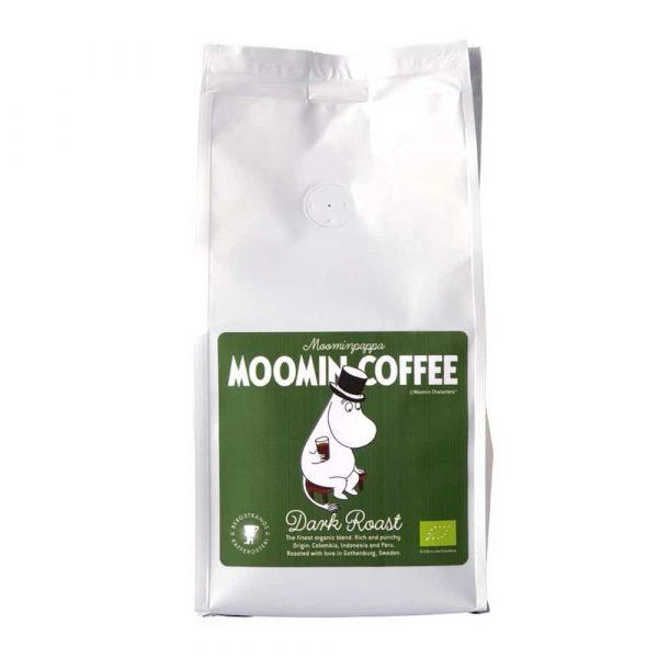 Muminkaffe Muminpappan, mörkrost - ekologiskt kaffe 250 g bryggmalet