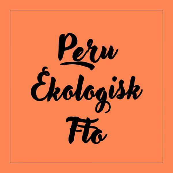 Peru Ekologisk FTO - kaffe
