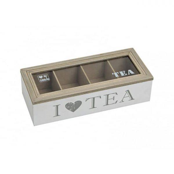 Låda för tepåsar 26 cm