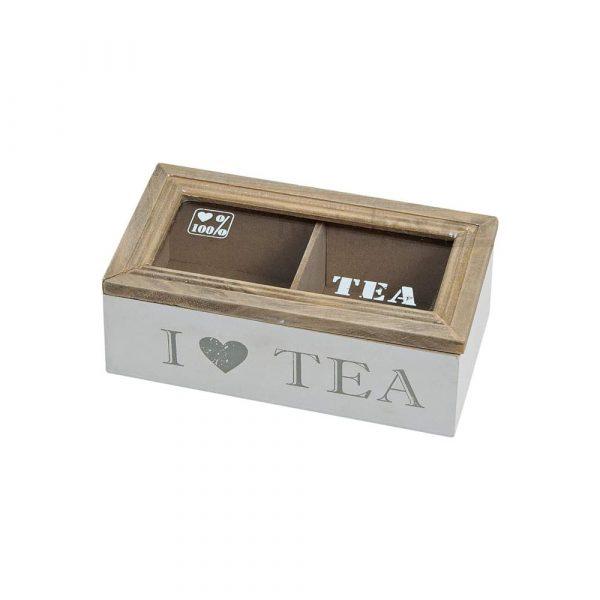 Låda för tepåsar 17 cm