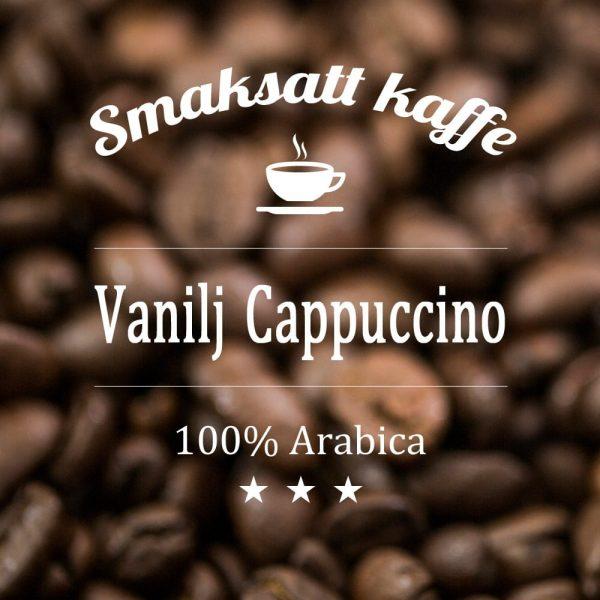 Vanilj Cappuccino - smaksatt kaffe