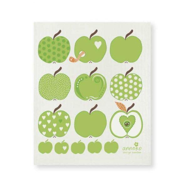 Anneko disktrasa, Gröna äpplen