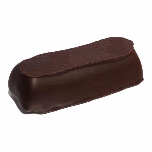 Marsipanbröd gjord på marsipan med 77% (!) mandel, doppat i mörk choklad.
