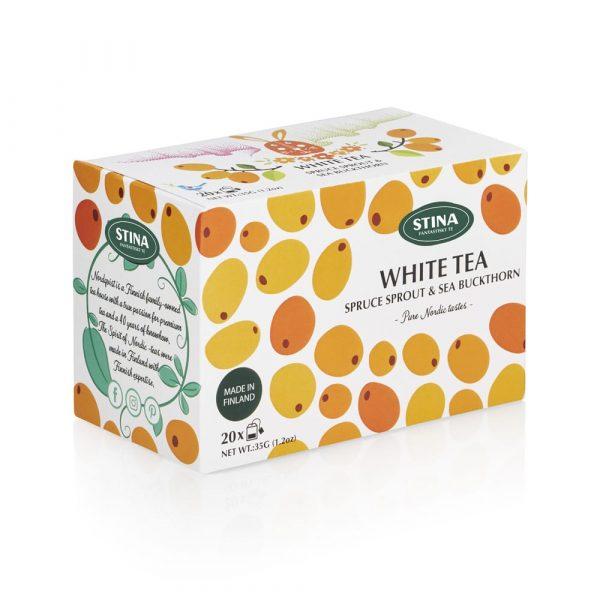 Havtorn och granskott (vitt te) – Pure Nordic tastes påste