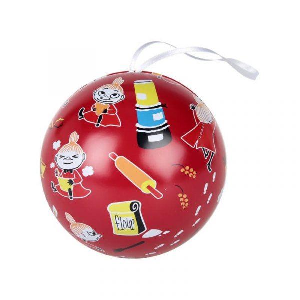 Öppningsbar julkula Lilla My Mumin Ø 9 cm