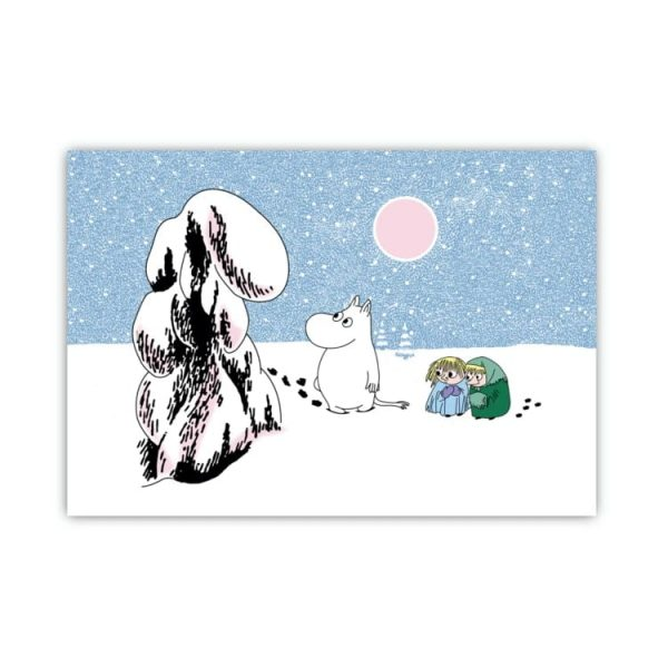 Bordstablett Mumin Snö 40x27,5 cm