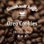 Arabicakaffe med smak av Oroe Cookies. Ett krämigt kaffe med smakerna choklad, grädde och vanilj. Kaffe med dopp utan kaka.