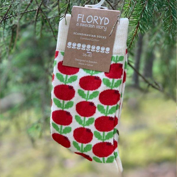 FLORYD strumpor Lingon stl. 36-40