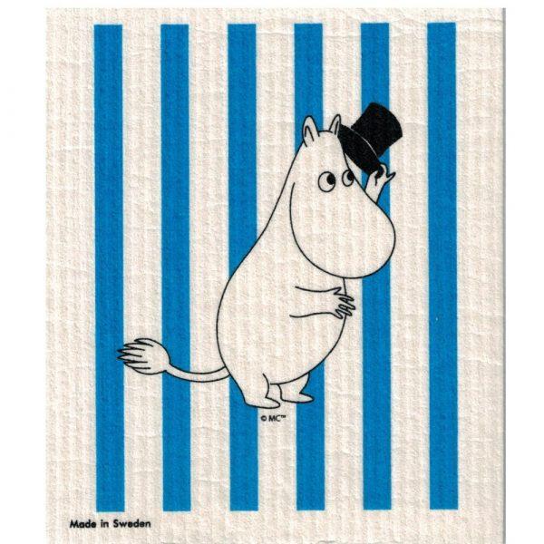 Mumin disktrasa, Muminpappan randig, blå